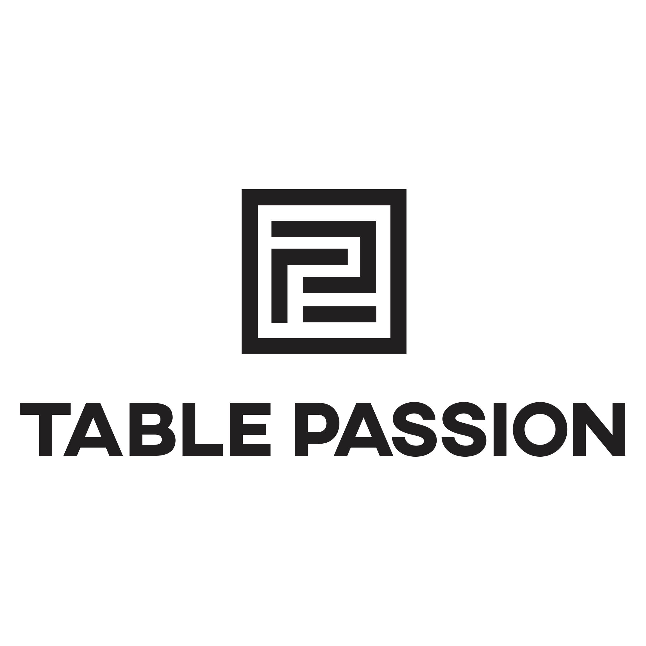 LOGO TABLE PASSION